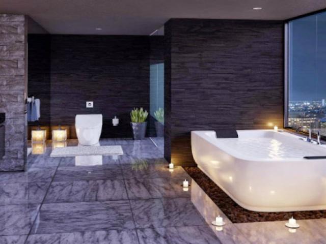 شش حمام رویایی که وان حمام شان مجزا است